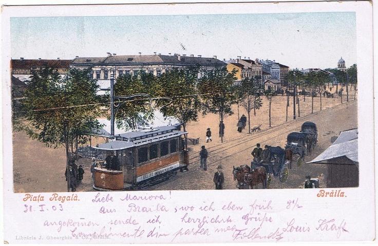 BRAILA 1903 - Piata Regala