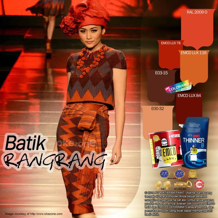 Kawan EMCO, Indonesia memang khas dengan batiknya. Kita memiliki banyak sekali jenis batik. Setiap batik tersebut mencirikan khasnya masing-masing. Biasanya, ciri dari masing-masing batik dapat dibedakan dari motif dan warnanya. Nah, ada satu jenis batik yang sedang trend loh ! Namanya Batik Rang-Rang. Batik tersebut  sebetulnya adalah khas Bali namun telah dimodifikasi sehingga tampak elegan dan modern.
