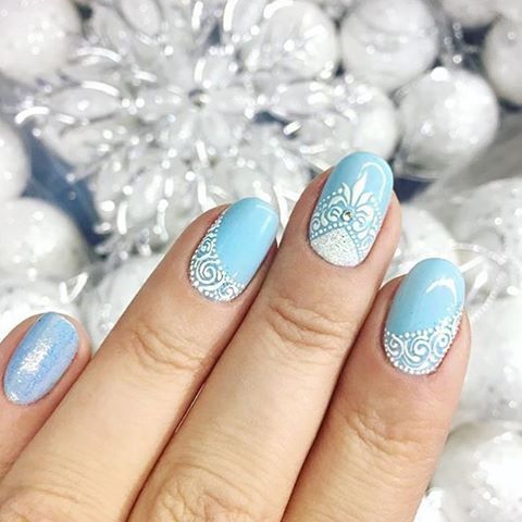 Instagram photo by @nail_master_russia via ink361.com #nailart #naildesigns #nails