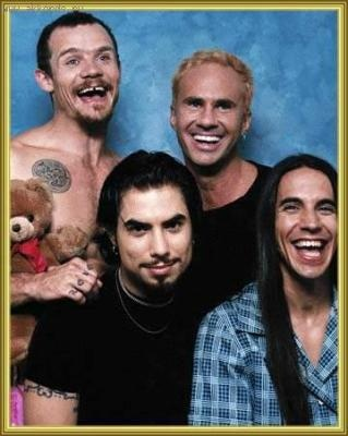 Red Hot Chili Peppers when Dave Navarro was in the band