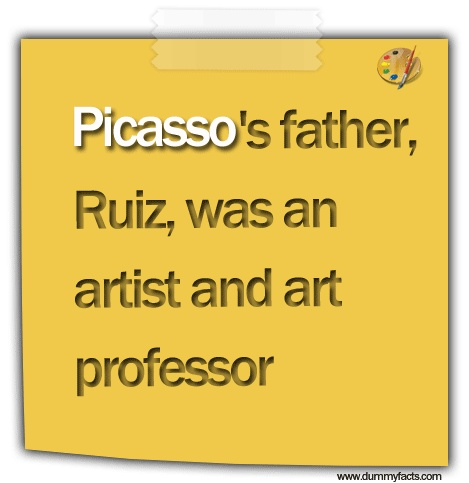 Art facts, Artists, Picasso