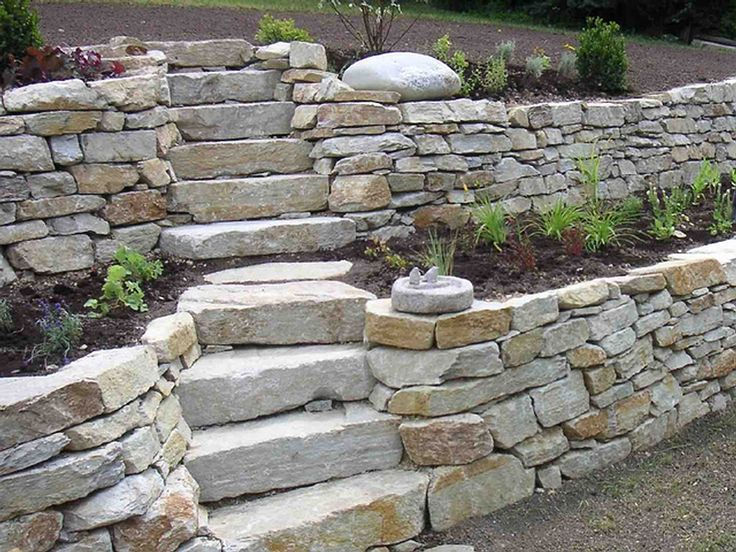 727 best images about retaining wall ideas on pinterest for Gartengestaltung umrandung