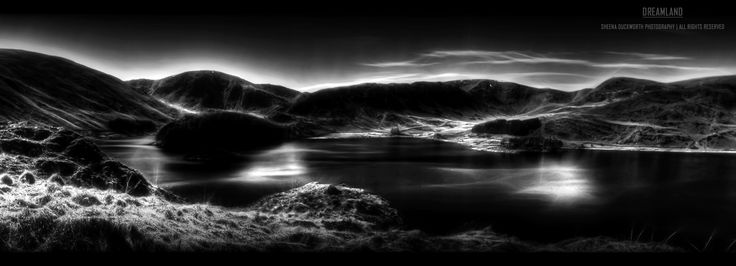 Scenery, Landscape, Lake, The Lake District, Water, Mountains, Sky, Clouds, Darkness and Light, Mood, Moody, Atmosphere, Scenic, Dreamy, Sheena Duckworth Photography