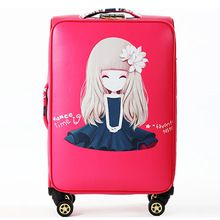 Beautiful girl pattern Large Capacity Suitcases Bags, woman high quality Multicolor Travelling Luggage Bag, Waterproof Spinner //FREE Shipping Worldwide //