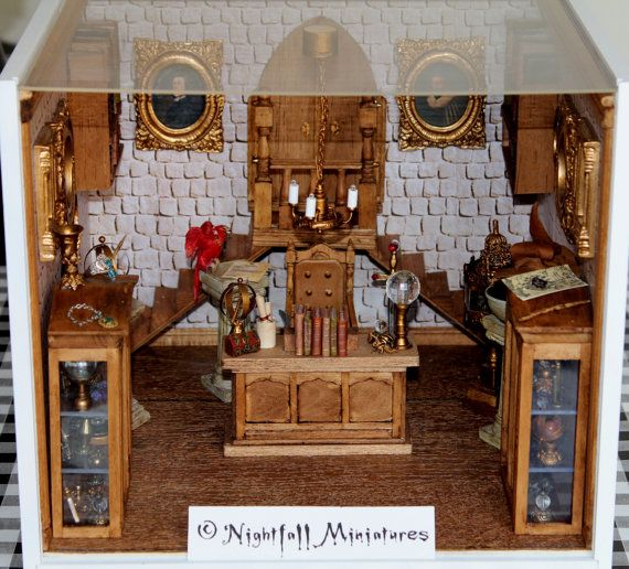 Miniature Children S Bedroom Room Box Diorama: 1000+ Ideas About Harry Potter Miniatures On Pinterest