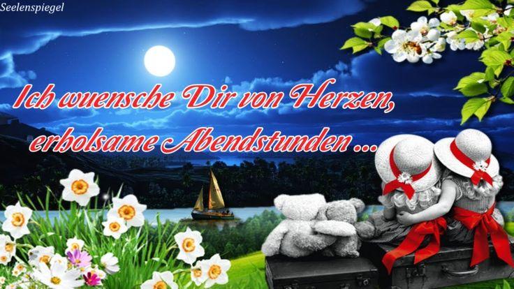 Guten Abend Gruß für Dich ⭐ liebe #grüße von mir #