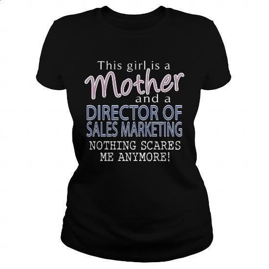 DIRECTOR OF SALES MARKETING - MOTHER #shirt #Tshirt. CHECK PRICE => https://www.sunfrog.com/LifeStyle/DIRECTOR-OF-SALES-MARKETING--MOTHER-109336608-Black-Ladies.html?60505