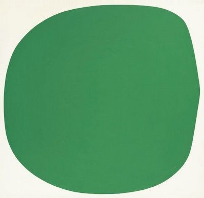 Эллсворт Келли. Зеленая клякса
