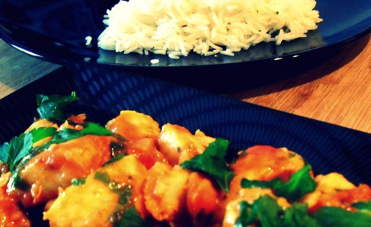 Curry di halibut