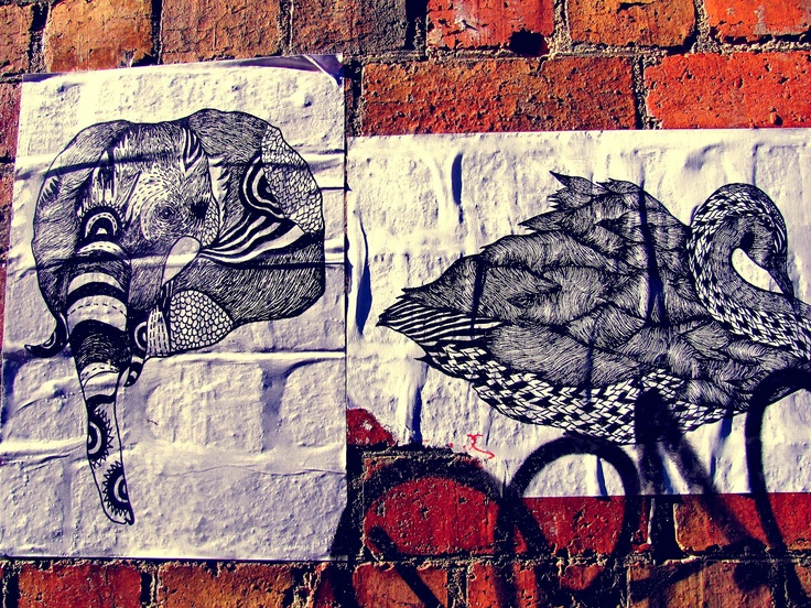String Of Events, Melbourne Street Art