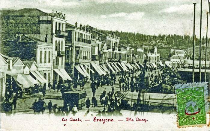 Smyrna quay, 1900