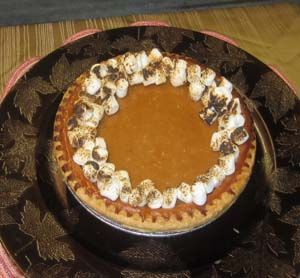 Post image for Sweet Potato Pie with Gluten Free Pecan Crust