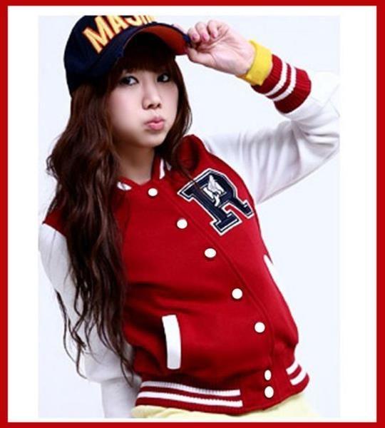 Бейсбольная женская куртка
