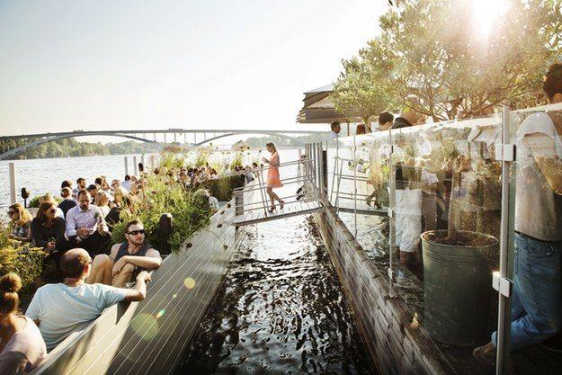 Outdoor restaurants for Summer evenings - Stockholm