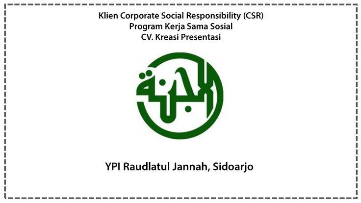 CSR YPI Raudlatul Jannah, Sidoarjo