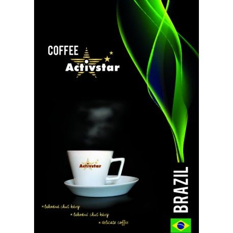 Káva Brazil  - mletá 225 gramov http://845599.activstar.sk  http://845599.activstar.cz