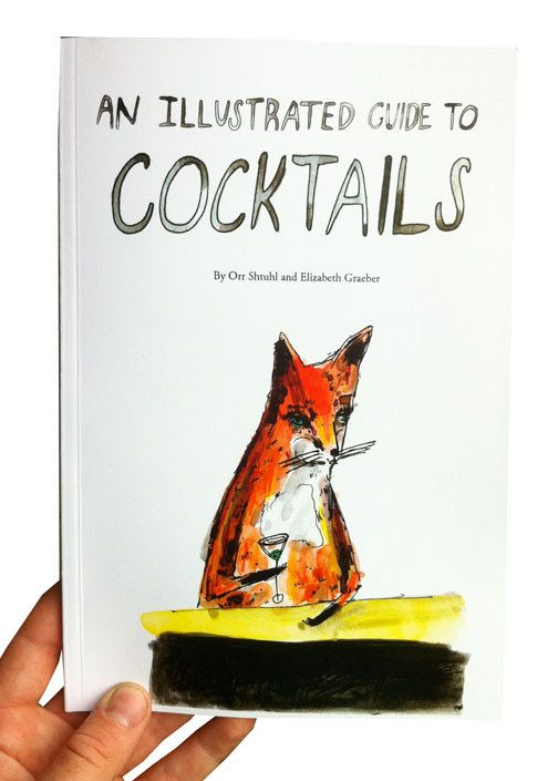 Illustrated guide to cocktails