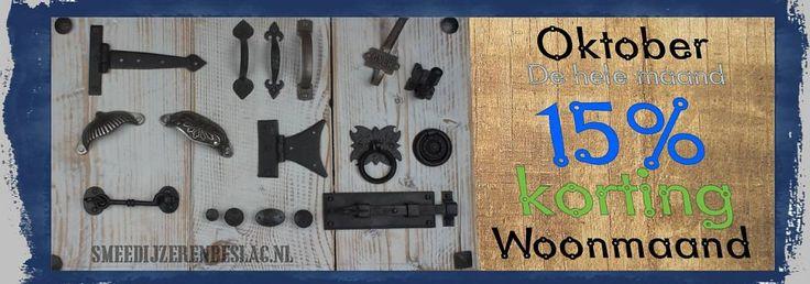 Webwinkel voor smeedijzeren en gietijzeren hardwaren als deurbeslag, raambeslag, meubelbeslag en bevestigingsmaterialen.