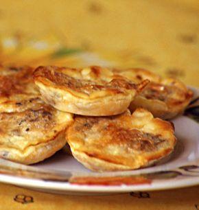 Mini quiches sans pâte aux sardines - Recettes de cuisine Ôdélices