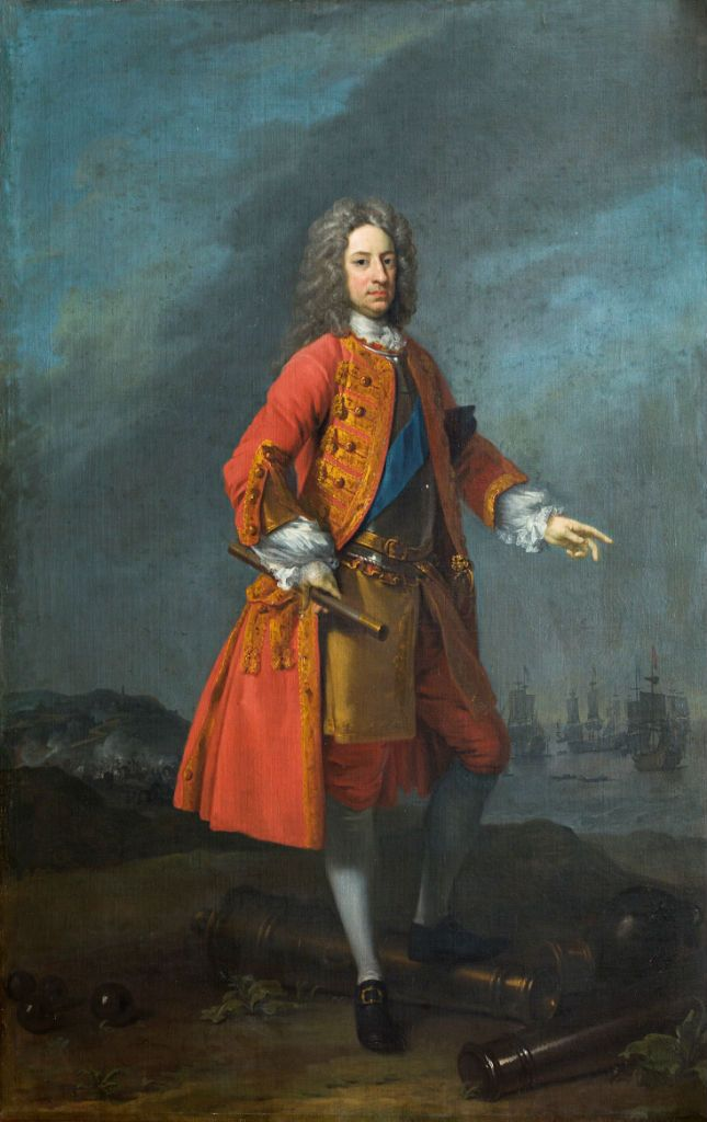 The Life of Viscount Mordaunt of Avalon via Naomi Clifford. Charles Mordaunt, 3rd Earl of Peterborough (1658-1735) by Charles Jervas (c.1675-1739). Burghley House Collections.