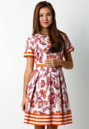 BATIK SEMAR  Dress Batik Printed