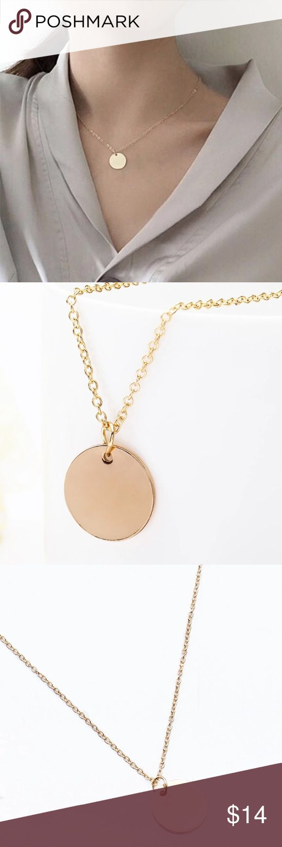 Gold Coin Necklace ▪️Brand New ️  ▪️Dainty Necklace  ▪️Color: Gold   Happy Poshing! Jewelry Necklaces