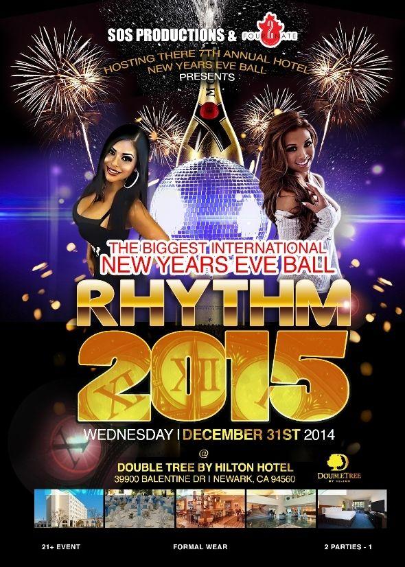 The Gest International Bollywood New Years Eve Ball Rhythm 2017 In Doubletree By Hilton Hotel
