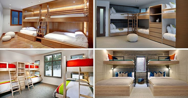Interior Design Ideas For Sleeping Six People In A Room