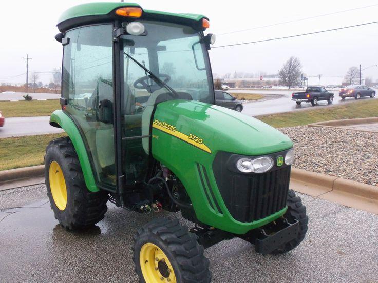 John Deere 3720 Attachments : John deere cab tractor equipment