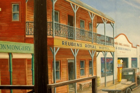 Royal Hotel, old Narabri by Graham Lees