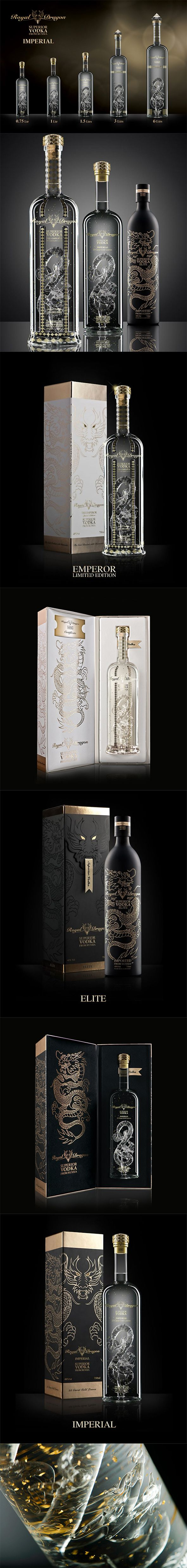 Royal Dragon Vodka Superior Vodka from Russia