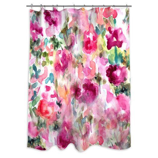 Oliver Gal Oliver Gal Home In Wonderland Shower Curtain
