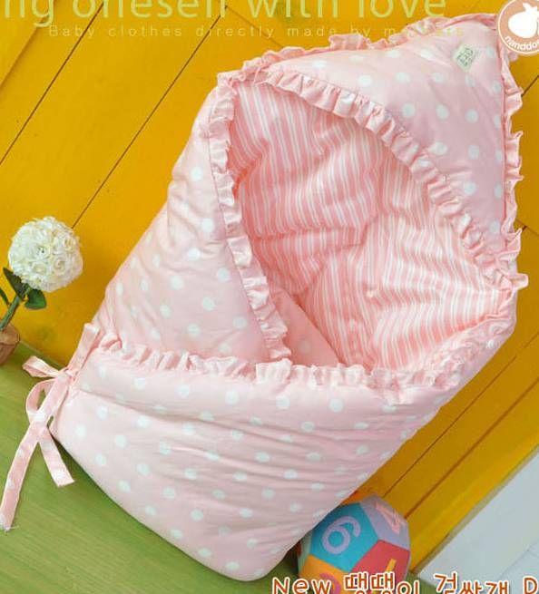 Newborn:  Sewing Blanket to Kelly