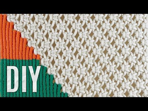Macrame Tapestry Tutorial - YouTube