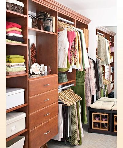 A Chic Walk In Closet   Would Be Nice To Have A Stylish Yet Very Organized Closet  Space, A Small Spare Room Would Be Perfect!