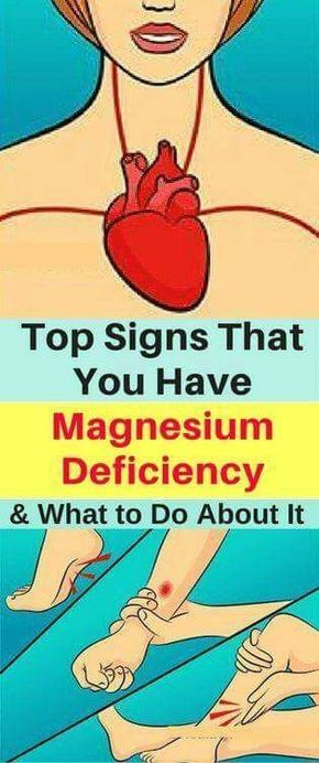 Top Signs That You Have Magnesium Deficiency and What to Do About It!