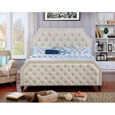 Alcott Hill Karl Upholstered Standard Bed