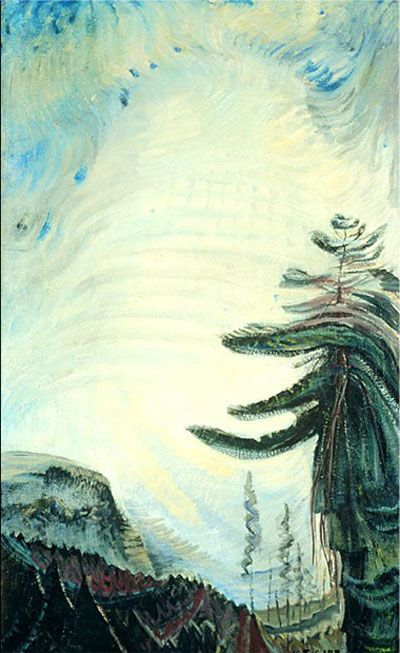 Scorned As Timber, Beloved Of The Sky, Emily Carr via the girl who married a bear