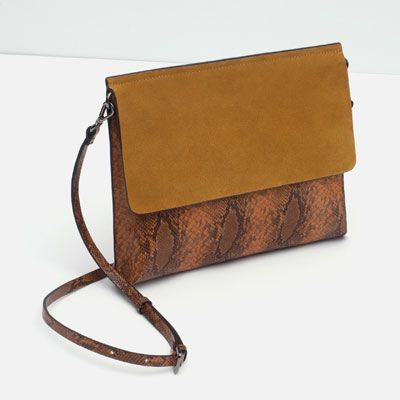 Image 5 of COMBINED CLUTCH BAG from Zara