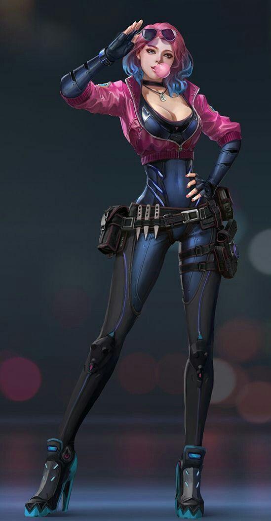 Super Cool Solider Design Sci Fi Character Designs