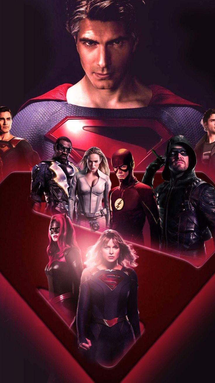 Cw dc 2019 heroes hd wallpaper 1440x2560 in 2020 dc