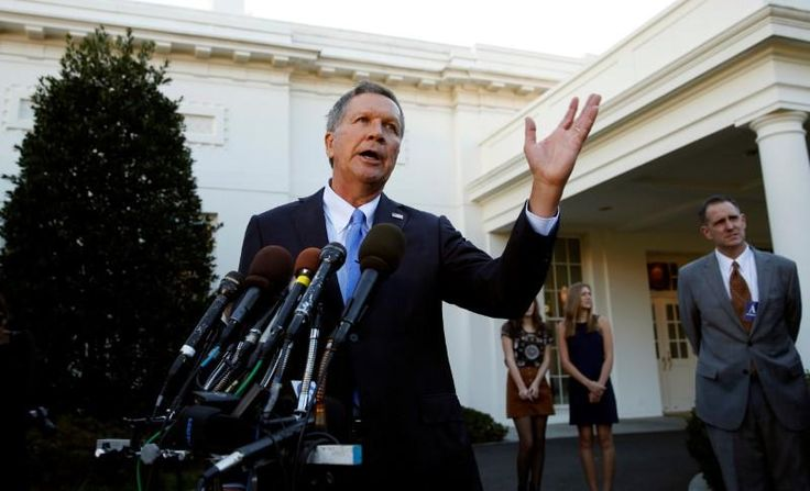 Ohio Governor John Kasich on Monday delayed nine scheduled executions because of a court battle being waged over the state's lethal injection protocol.
