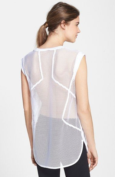 Zella+'More+Mesh'+Tee+available+at+#Nordstrom