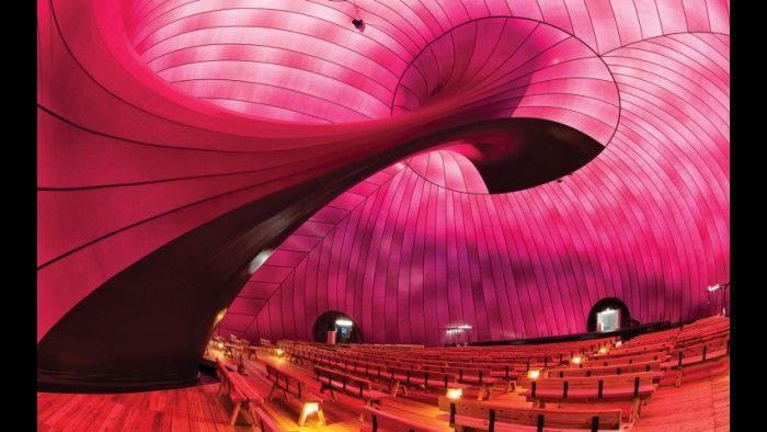 Ark Nova, uma sala de concertos portátil em Matsushima, no Japão