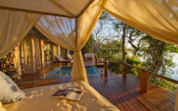 36. Tongabezi Lodge, Livingstone, Zambia