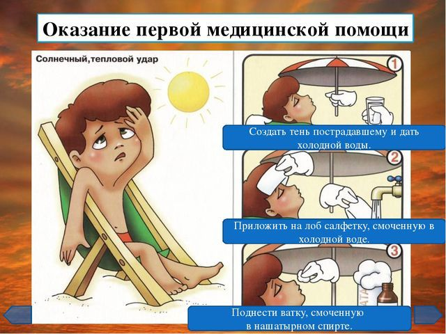Тепловой и солнечный удары: первая помощь 0