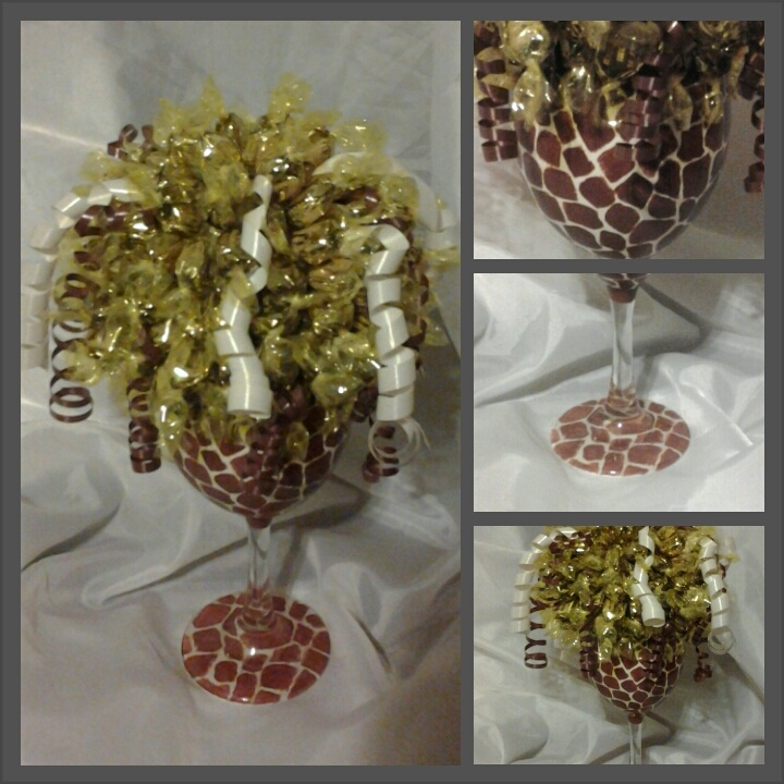 Rock Candy Filled Champagne Glasses: 8 Best Candy Bouquets Images On Pinterest