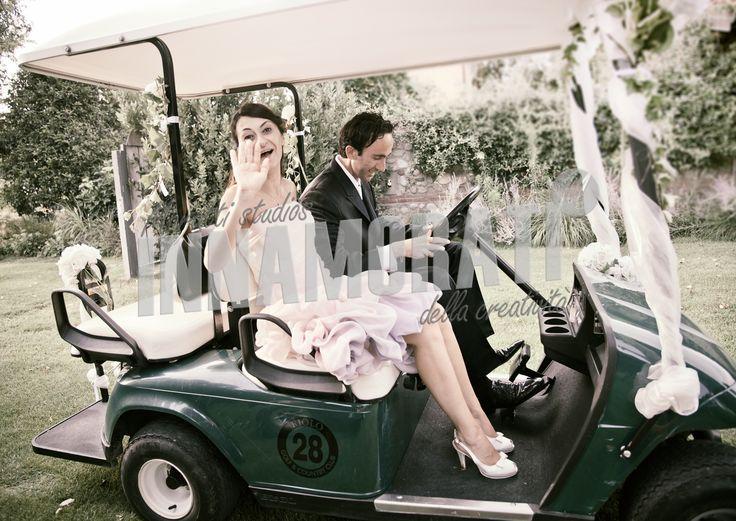 #Wedding #auto #golf #italy #fotopopart.it #morrismoratti.com