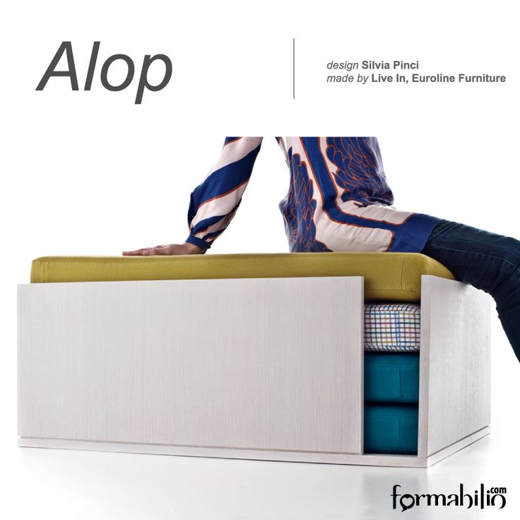 #multifunctional #table / #pouf with 3 informal seats (psst...one of them is also a #foldingbed!) https://www.formabilio.com/shop/sofas/poufs/alop-multifunctional-folding-bed