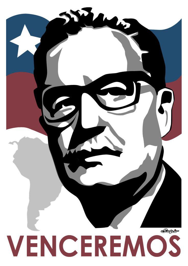 Salvador Allende by Saporita
